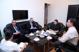 Marokkanischer Botschafter im Übersetzungszentrum