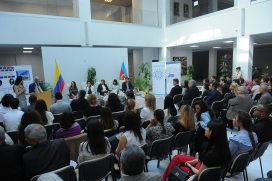 An Anthology of Azerbaijan and Colombian Poetry Presented in Baku