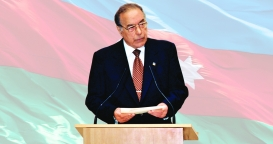 Speech of Heydar Aliyev at the solemn ceremony dedicated to the 75th anniversary of Baku State University