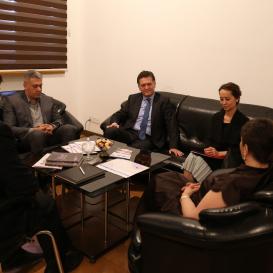 Türkiye Büyükelçisi Tercüme Merkezi'nde