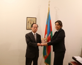 Japan's Ambassador Visits AzTC Office