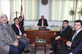 AzTC Representatives Visit Ain Shams University in Cairo