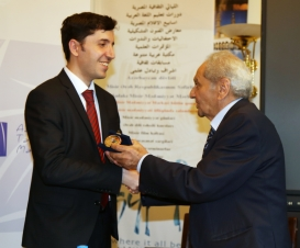Art Award at the the Egyptian Cultural Centre