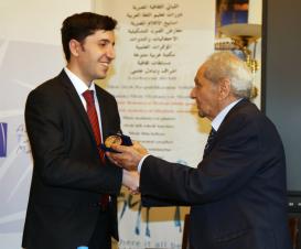 """Tərcümə Mərkəzinin """"Bildirçin və payız"""" kitabı Misir Ali Təhsil Nazirliyinin xüsusi diplom və medalına layiq görüldü"""