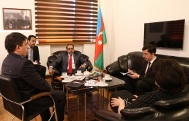 دیدار سفیر فوق العاده و تام الاختیار امارات متحده عربی از بنیاد ترجمه