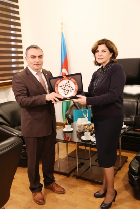 Director of Baku Yunus Emre Institute Visits AzTC