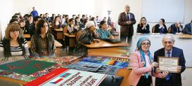 En la Universidad de Eurasia de Bakú, por parte del Centro Estatal de Traducción de Azerbaiyán fue organizado un evento sobre el tema «Problemas de traducción»