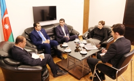Editor-in-chief of Arabic Weekly Newspaper Visits AztC