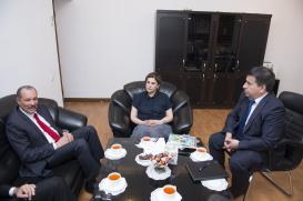 L'Ambassadrice de Cuba en Azerbaïdjan M. Alfredo Nieves Portuondo: «Je suivais déjà l'activité de votre Centre à Cuba»