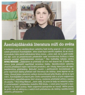 Statistics for Book World Prague 2015: Azerbaijan Named Active Country in the Programme