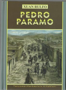 """""""Pedro Paramo"""" romanı çap olundu"""