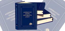 Spelling Dictionary of the Azerbaijani Language on Sale
