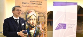 Nasimi's Poetry Collection Launched in Kharkiv