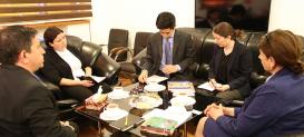 Официальный представитель посольства Японии посетил Центр Перевода