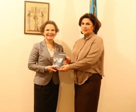 French Ambassador Visits AzTC