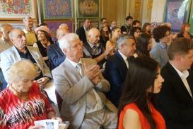 """""""Müasir Azərbaycan poeziyası"""" antologiyasının Ukraynada təqdimatı oldu"""