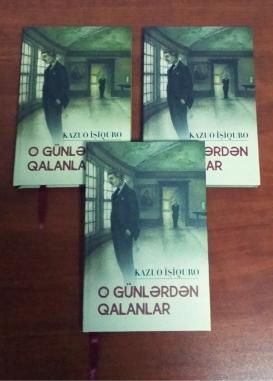 Sonuncu Nobel mükafatçısının romanı Azərbaycan dilində