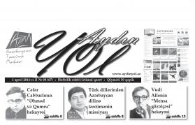 """""""Aydın yol"""" 01 aprel 2016-cı il"""