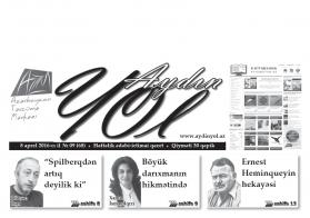 """""""Aydın yol"""" 08 aprel 2016-cı il"""