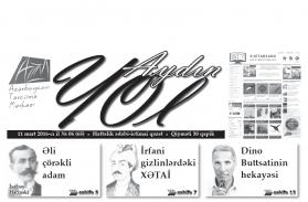 """""""Aydın yol"""" 11 mart 2016-cı il"""