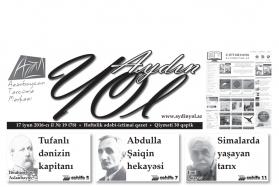 """""""Aydın yol"""" 17 iyun 2016-cı il"""