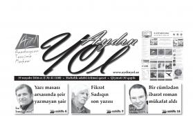 """""""Aydın yol"""" 19 noyabr 2016-cı il"""