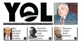 """""""Aydın yol"""" 24 oktyabr 2014-cü il"""