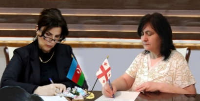 Un Mémorandum a été signé entre le Centre de Traduction et l'Union des écrivains géorgiens