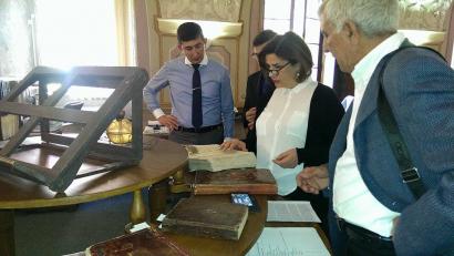 La délégation du Centre de Traduction a visité la Bibliothèque Nationale de la République Tchèque