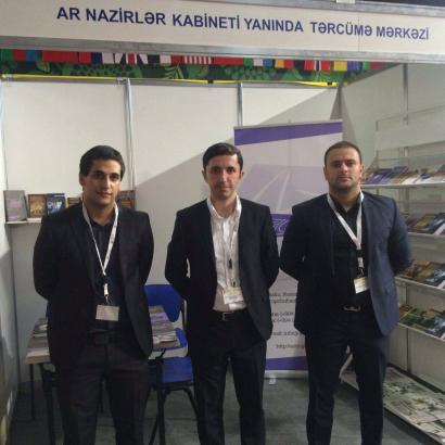 El Centro de Traducción en la IV Feria Internacional del Libro de Bakú