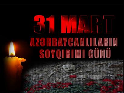 Le massacre du mars en Azerbaïdjan (le génocide des musulmans à Bakou et dans les autres villes en 1918)