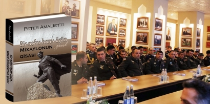 A Book on Mikhailo Presented by the Ministry of Defense