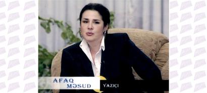 ცნობილი აზერბაიჯანელი მწერალი აფაგ მესუდი წერილობით პასუხობს რუსეთის ტელეწამყვანს იმ მცდარი მოსაზრებების გამო, რომლებიც მან სომხეთის საზოგადოებრივ ტელე-არხზე გააჟღერა