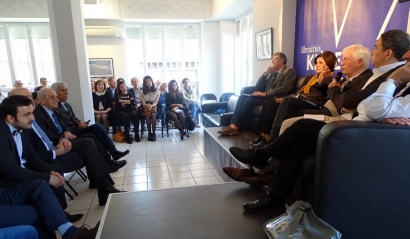 The AzSTC Anthology of Azerbaijani Literature in French Translation Launched in France