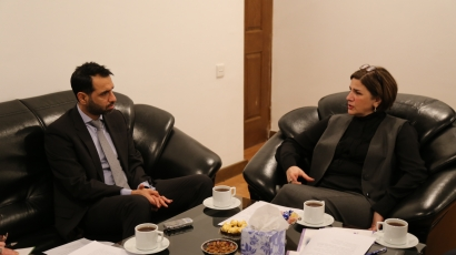 British Ambassador To Azerbaijan Visits AzTC