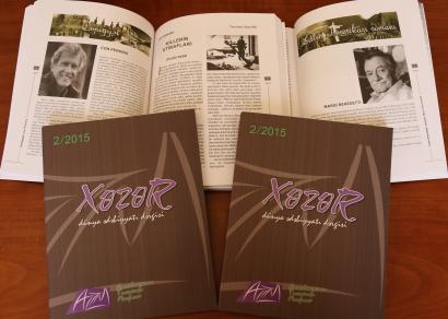 Khazar World Literature Magazine Next Issue Published