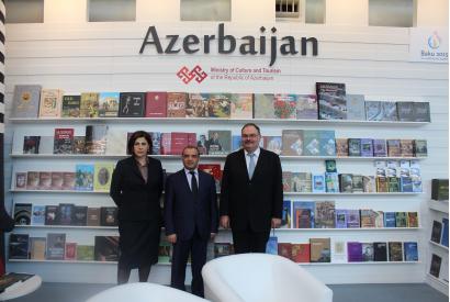 El Centro de Traducción de Azerbaiyán en la Feria Internacional del Libro de Londres 2015