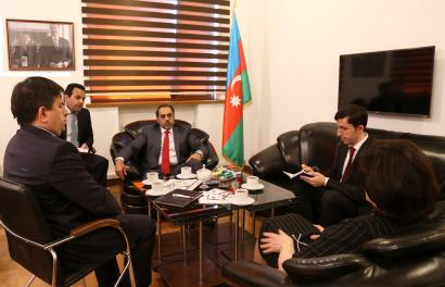 L'Ambassadeur des Emirats Arabes Unis en Azerbaïdjan a visité le Centre de Traduction