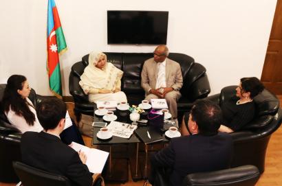 """""""Azerbaiyán es el país más estable y pasífico del mundo"""" – embajador extraordinario y plenipotenciario de la República del Sudán en la República de Azerbaiyán, Mohammad Elias Mohammad al-Hag"""