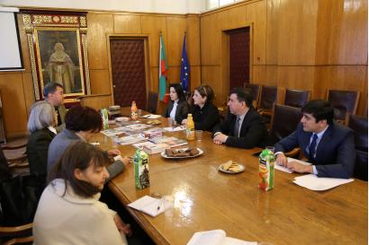 La délégation du Centre de Traduction est en visite à Sofia