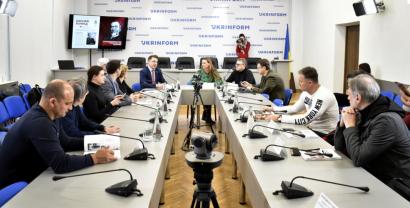 La siguiente presentación de la colección de gazales de Nasimi se celebró en Kiev (FOTO, VIDEO)