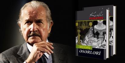 """Las """"Obras seleccionadas"""" de Carlos Fuentes se publicaron por primera vez en azerbaiyano"""