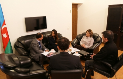 Spanish official visits AzTC