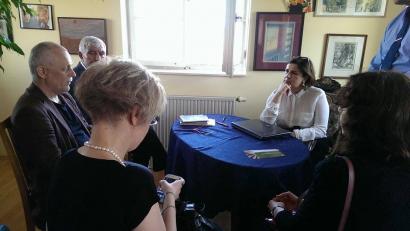 Состоялась встреча Переводческого Центра в чешском Пен-клубе