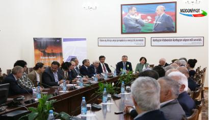 Le livre du célèbre poète géorgien Baghater Arabouli a été présenté en Azerbaïdjan (Mədəniyyət TV)
