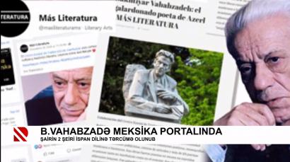 Verses by Bakhtiyar Bahabzade Shared in a Virtual World