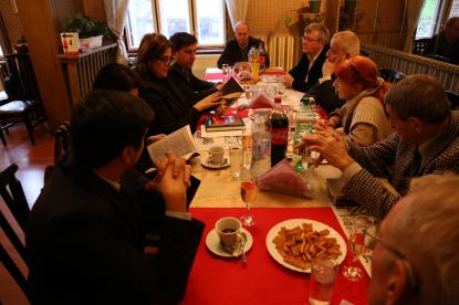 Tərcümə Mərkəzinin nümayəndə heyəti Bolqarıstan Yazıçılar Birliyində