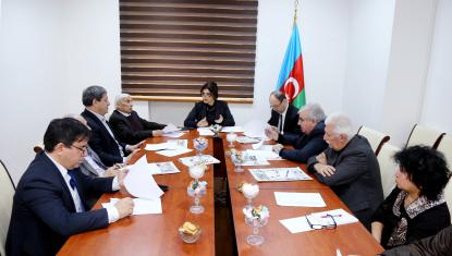 Состоялось очередное заседание Научно-Художественного Совета Переводческого Центра при Кабинете Министров Азербайджанской Республики