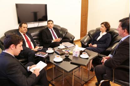 El Director del Centro Nacional de Traducción de Egipto estuvo de visita en el Centro de Traducción