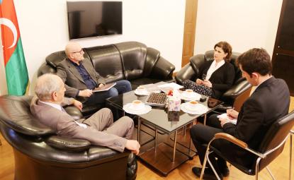 Ředitel německého nakladatelství navštívil Překladatelské Centrum